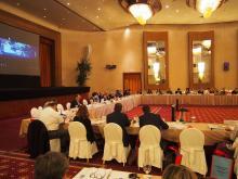 Στιγμιότυπο από τη 2η Συνεδρίαση της Επιτροπής Παρακολούθησης Ε.Π. Νοτίου Αιγαίου 2014-2020